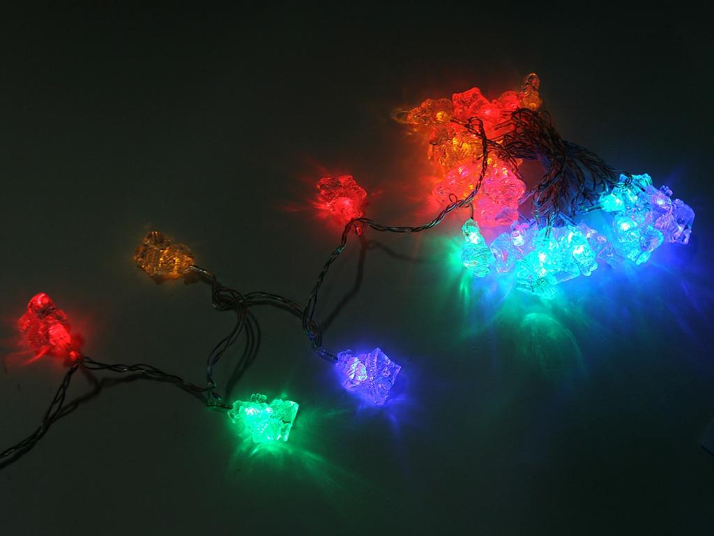 Гирлянда SnowHouse Санта Клаус 30 светодиодных ламп LD030M-SA