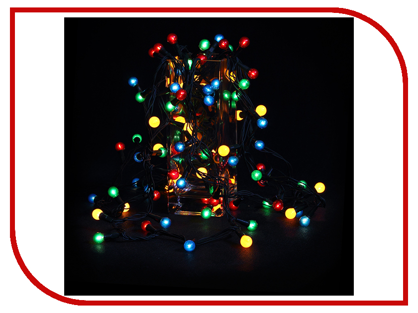 Гирлянда SnowHouse Жемчужные шарики ламповая IRP100/4M