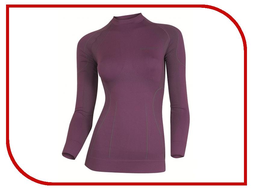 цена  Рубашка Brubeck XL Violet LS01430 женская  онлайн в 2017 году