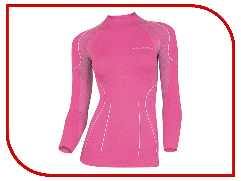 цена Рубашка Brubeck XL Pink LS01430 женская онлайн в 2017 году