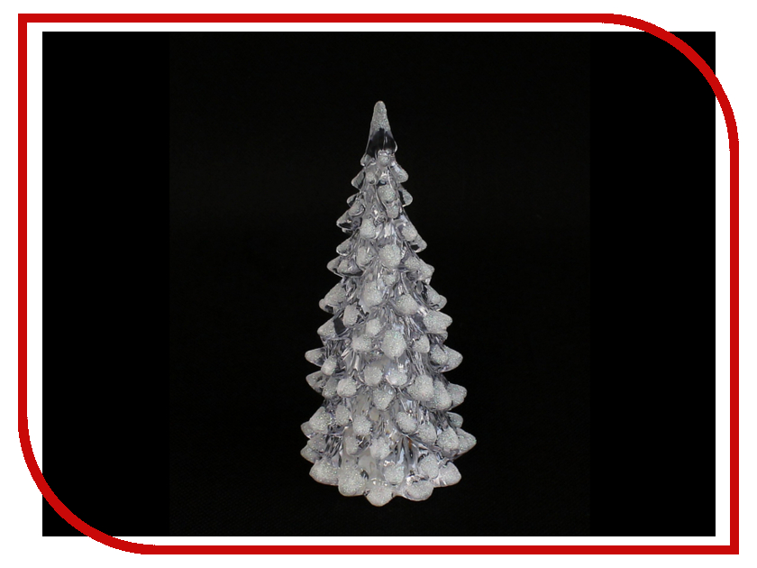 Новогодний сувенир SnowHouse Елочка TRW-13 White
