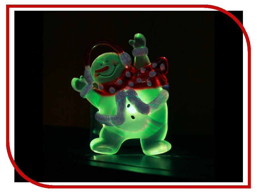Новогодний сувенир SnowHouse Снеговик SNM-SC-01 украшение snowhouse санта клаус snt hd 01
