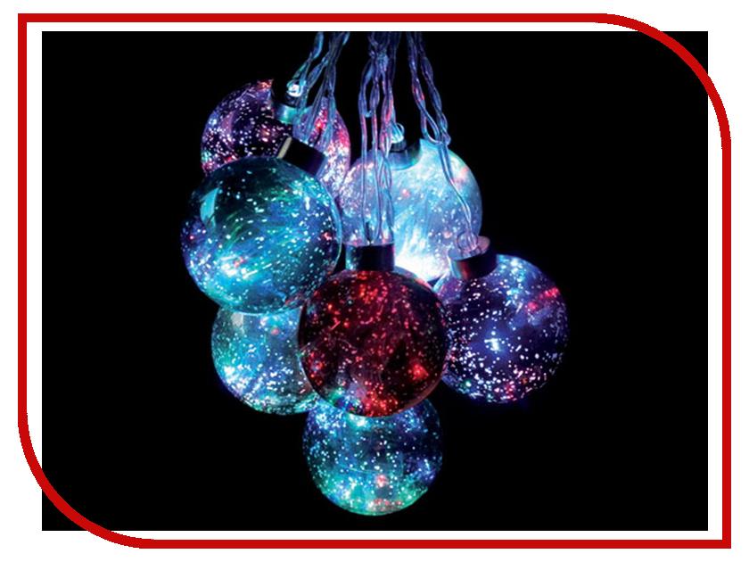 Новогодний сувенир SnowHouse Светящийся шар LBSM8-8B-3