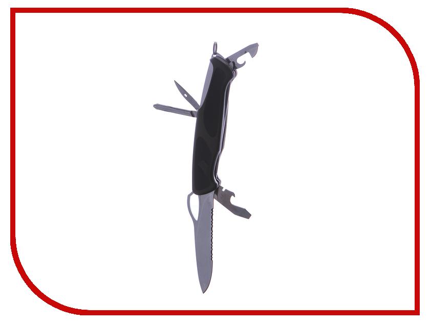Мультитул Нож Victorinox RangerGrip 178 0.9663.MWC4 victorinox rangergrip 178 0 9663 mwc4 130мм 12 функций чёрно зеленый