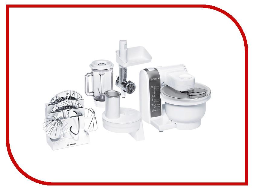 комбайн Bosch MUM4855 White bosch mcm3501m кухонный комбайн