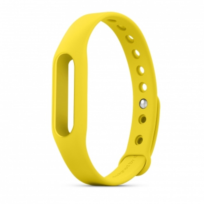 Aксессуар Ремешок Xiaomi Mi Band Yellow стоимость
