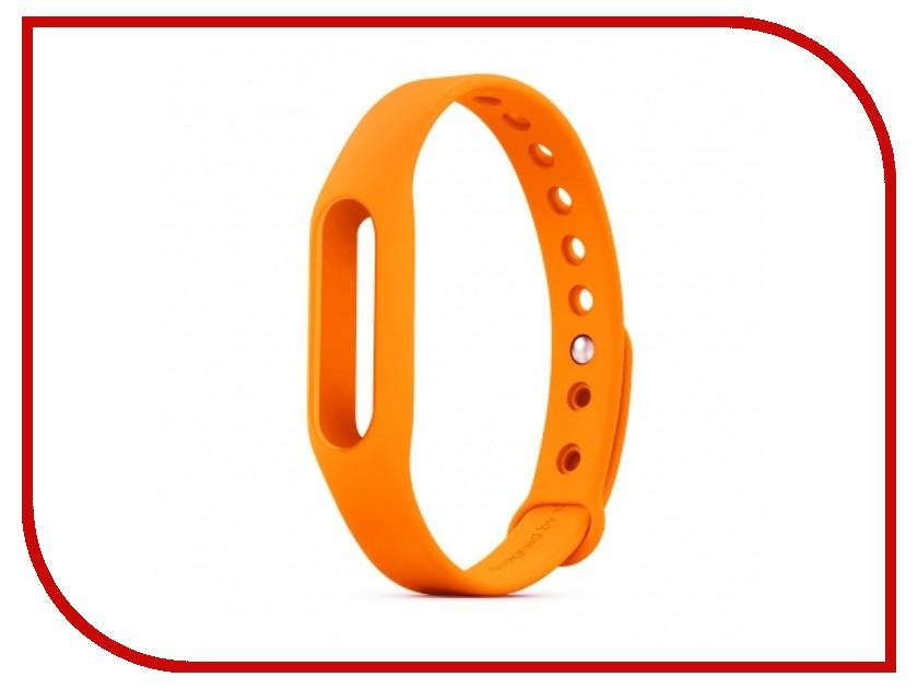 все цены на Aксессуар Ремешок Xiaomi Mi Band Orange онлайн