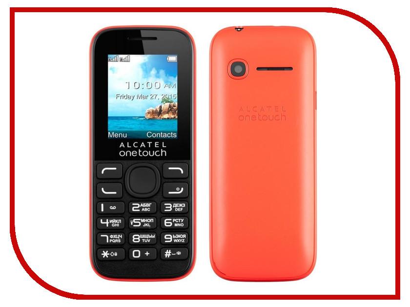 Сотовый телефон Alcatel OneTouch 1052D Red