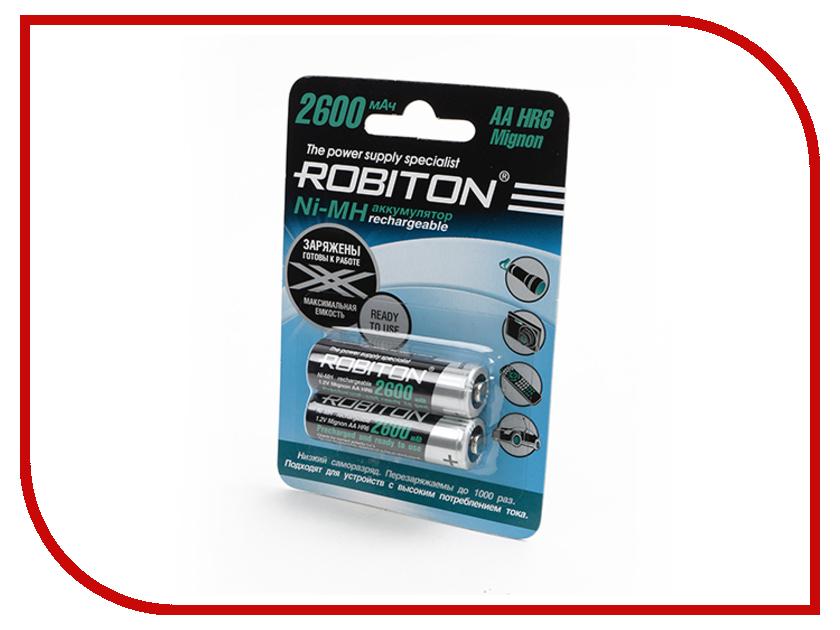 ����������� AA - Robiton 2600 mAh RTU2600MH-2 BL2 13118 (2 �����)