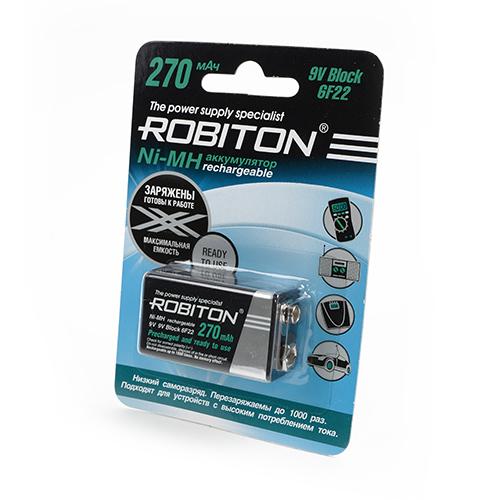 Аккумулятор КРОНА Robiton 270 mAh RTU270MH-1 BL1 13187