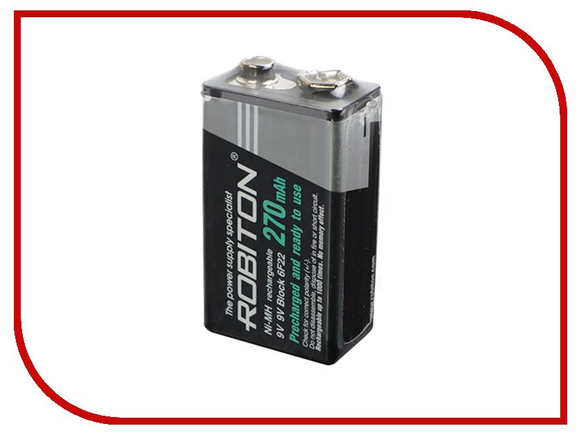 Аккумулятор КРОНА Robiton 270 mAh RTU270MH-bulk SR1 13188 аккумулятор d robiton d hr20 3000 mah rtu3000mhd sr2 14222 2 штуки