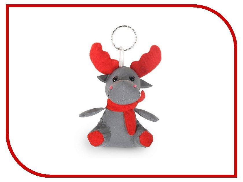 Игрушка антистресс Expetro Олень с красным шарфом C023