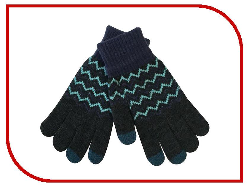 Теплые перчатки для сенсорных дисплеев Экспедиция GlovesBLU-18 Blue<br>
