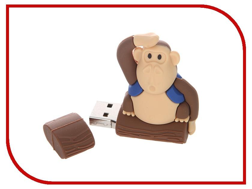USB Flash Drive 8Gb - Apexto MONKEYTREE Blue AP-MONKEYTREE-8GB-BL<br>