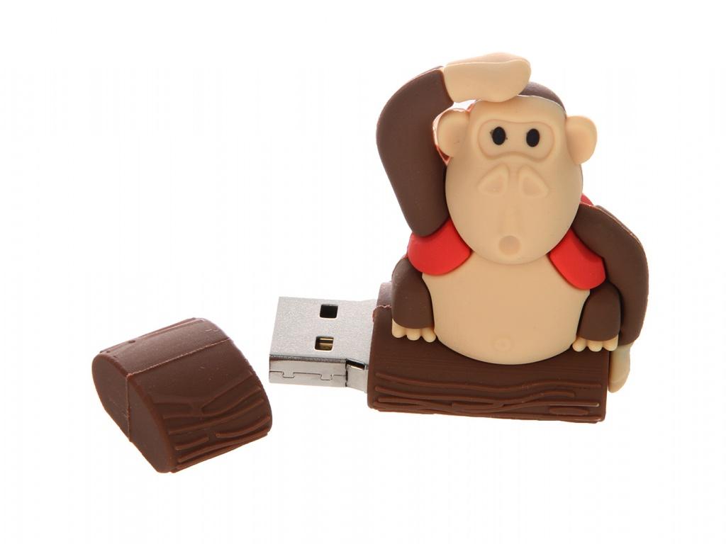 USB Flash Drive 4Gb - Apexto MONKEYTREE Red AP-MONKEYTREE-4GB-R<br>