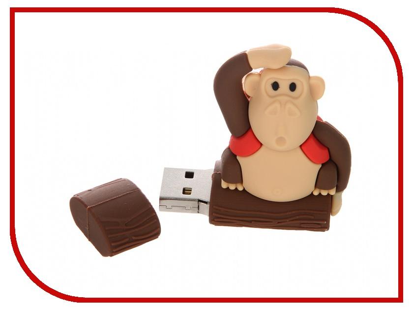 USB Flash Drive 32Gb - Apexto MONKEYTREE Red AP-MONKEYTREE-32GB-R<br>