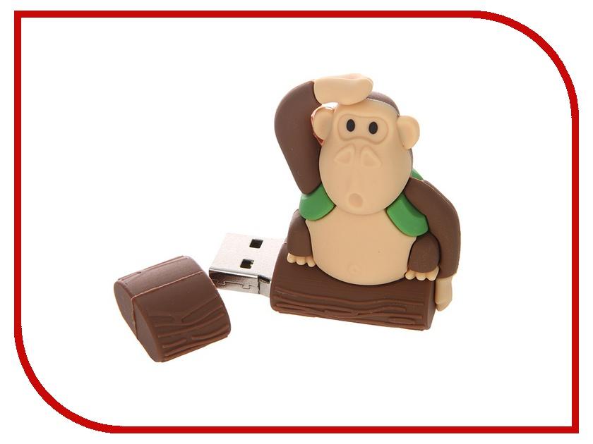 USB Flash Drive 32Gb - Apexto MONKEYTREE Green AP-MONKEYTREE-32GB-GR<br>
