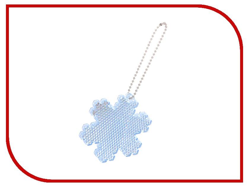 Светоотражатель Cova Подвеска-катафот Снежинка Blue 64x58x6mm 333-040<br>