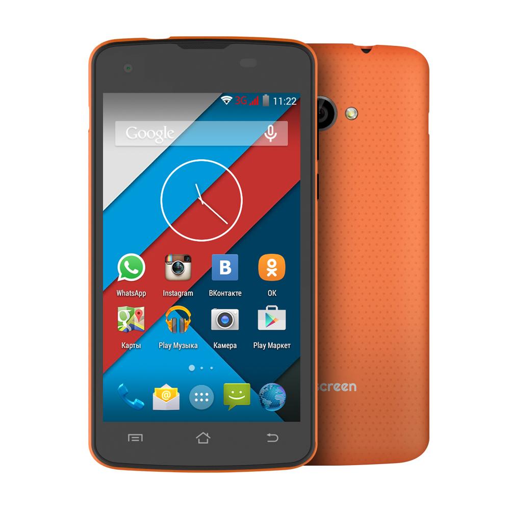 Сотовый телефон Highscreen Spark 2 Orange от Pleer