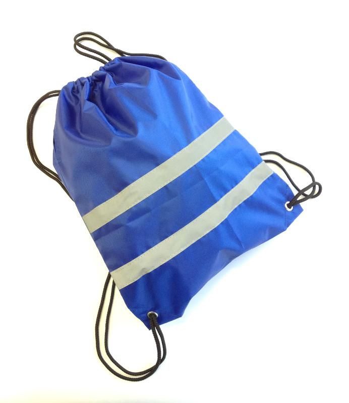 Мешок для обуви Cova сигнальный Blue 32x42cm 333-203