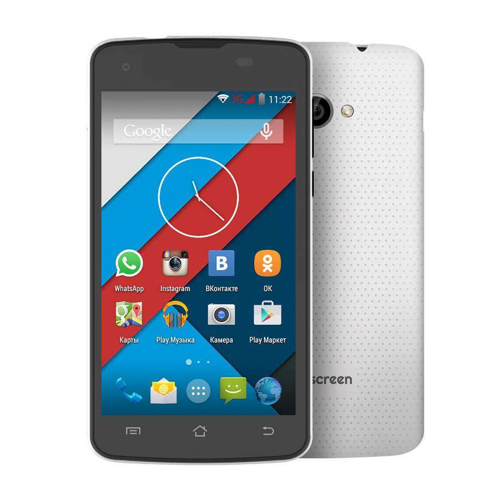 Сотовый телефон Highscreen Spark 2 White от Pleer