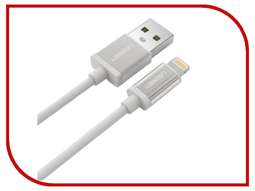Акустическая система для iPhone/iPad/iPod Ugreen USB 2.0 MFI AM - Linghtning 8pin AM 0.25m UG-20726<br>