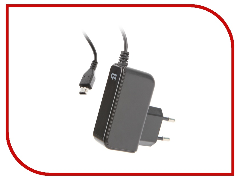 Зарядное устройство BB miniUSB 1A 1.2m 003-001 Black 08850 Сетевое<br>