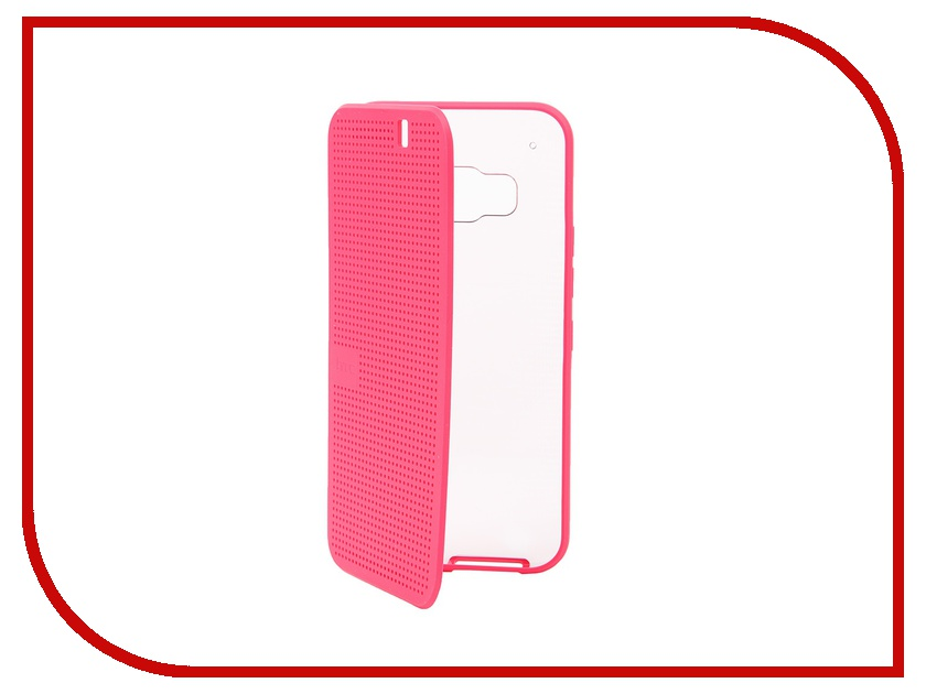 Аксессуар Чехол HTC One M9 Dot Ice Pink HC M232<br>