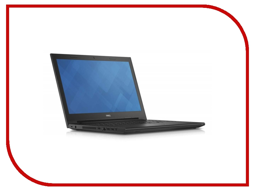 Ноутбук Dell Inspiron 3542 Black 3542-7807 (Intel Pentium 3558U 1.7 GHz/2048Mb/500Gb/DVD-RW/Intel HD Graphics/Wi-Fi/Cam/15.6/1366x768/Windows 10)<br>