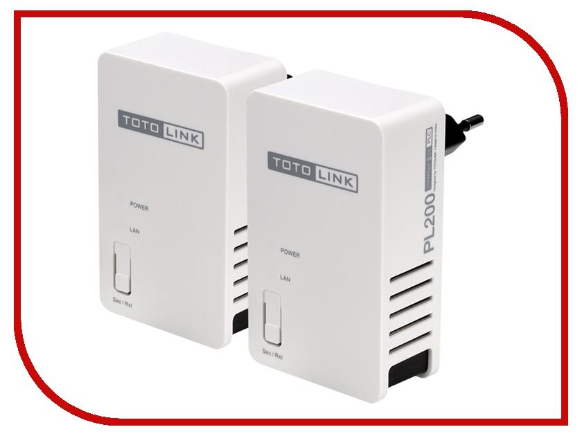 Powerline адаптер TOTOLINK PL200 KIT