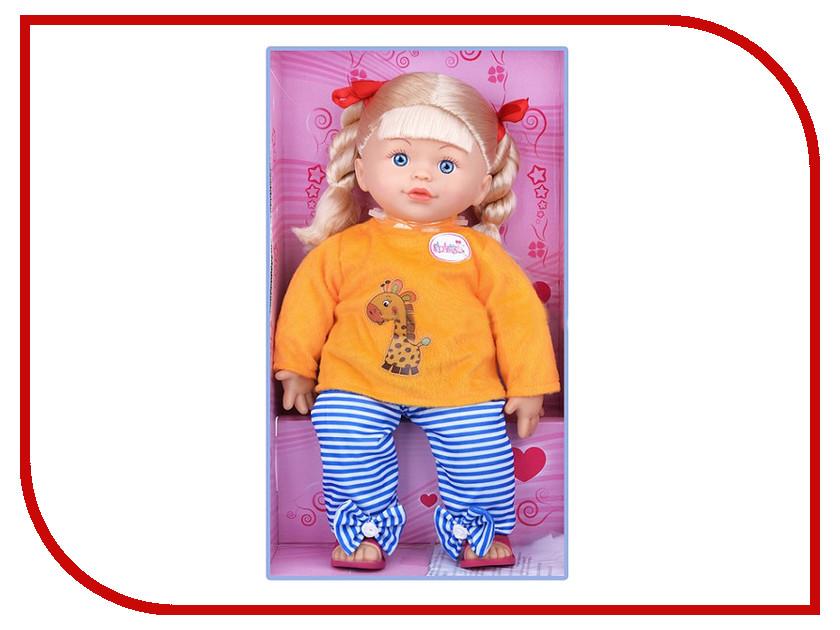 Кукла Карапуз 68090-RU карапуз кукла рапунцель со светящимся амулетом 37 см со звуком принцессы дисней карапуз