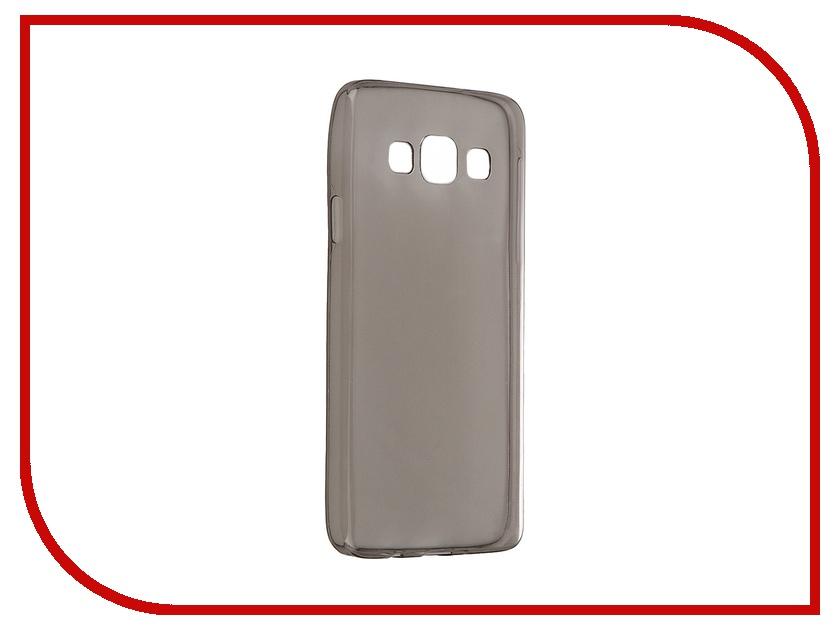 Аксессуар Чехол-накладка Samsung Galaxy A3 A300F Gecko Silicone Transparent Black S-G-SGA3-BL<br>