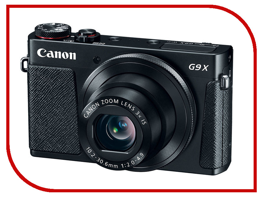 Фотоаппарат Canon PowerShot G9 X Black