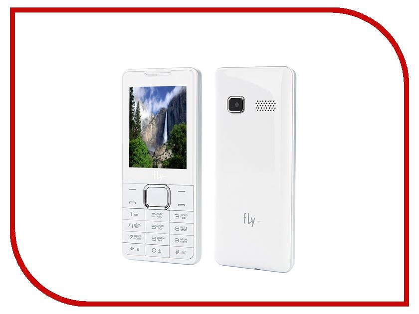 Сотовый телефон Fly DS116+ White