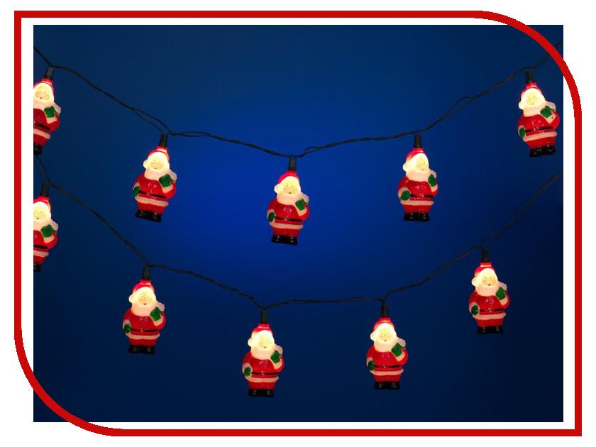 Гирлянда Snowmen Дед Мороз 4.1m Е2116
