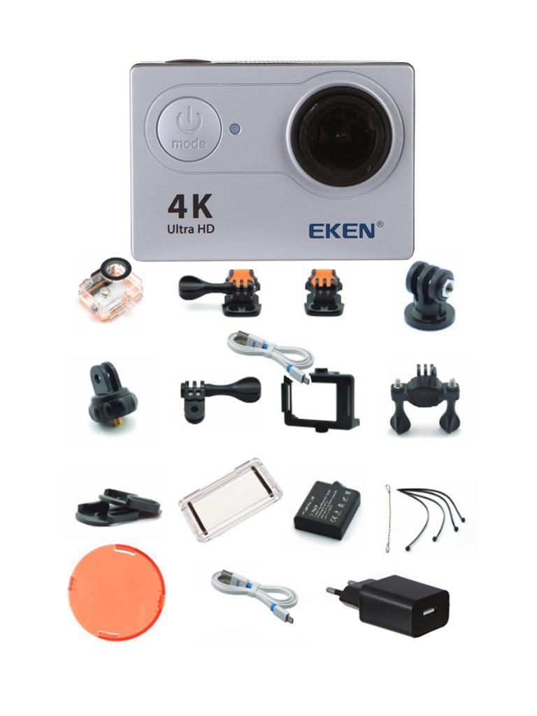 лучшая цена Экшн-камера EKEN H9 Ultra HD Silver