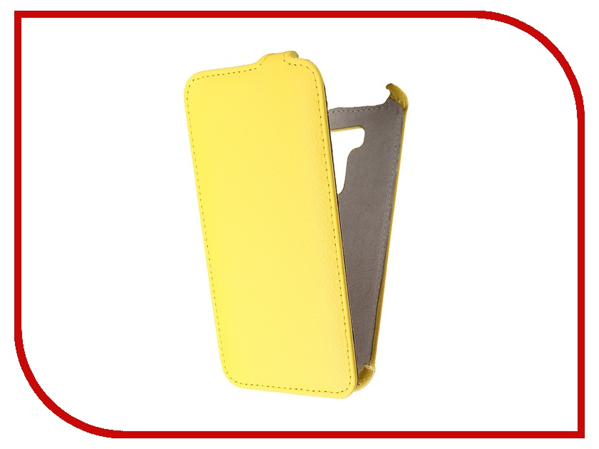 Аксессуар Чехол ASUS ZenFone 2 Laser ZE550KL 5.5 Activ Flip Leather Yellow 52771<br>