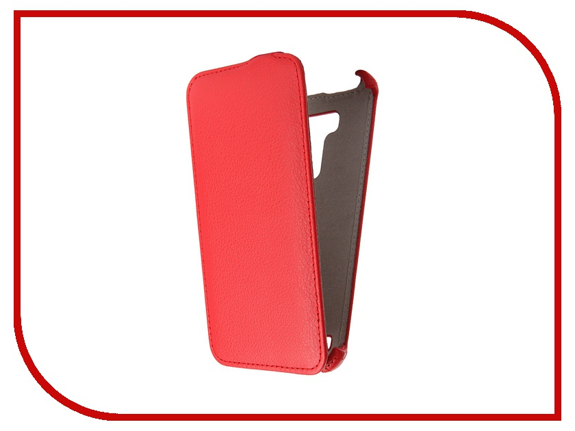 Аксессуар Чехол ASUS ZenFone 2 Laser ZE550KL 5.5 Activ Flip Leather Red 52768<br>