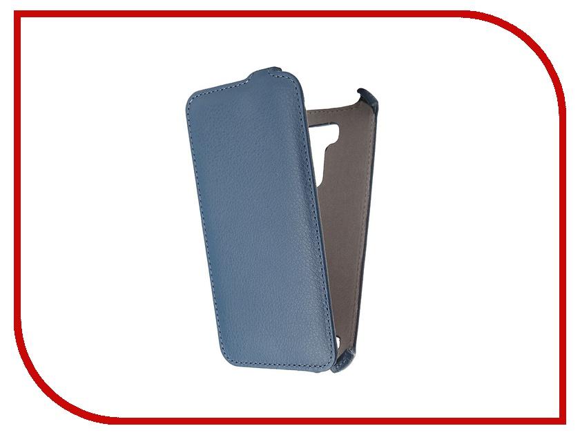 Аксессуар Чехол ASUS ZenFone 2 Laser ZE550KL 5.5 Activ Flip Leather Blue 52767<br>