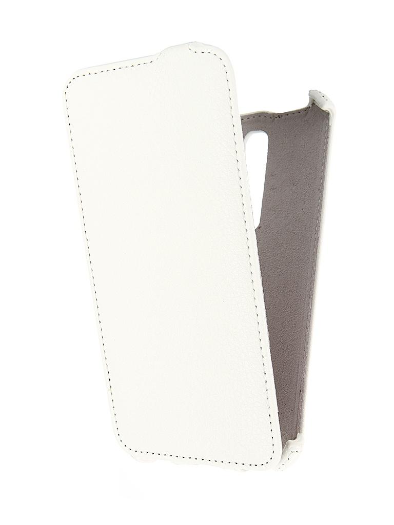 Аксессуар Чехол ASUS Zenfone 2 ZE551ML 5.5 Activ Flip Leather White 46487<br>