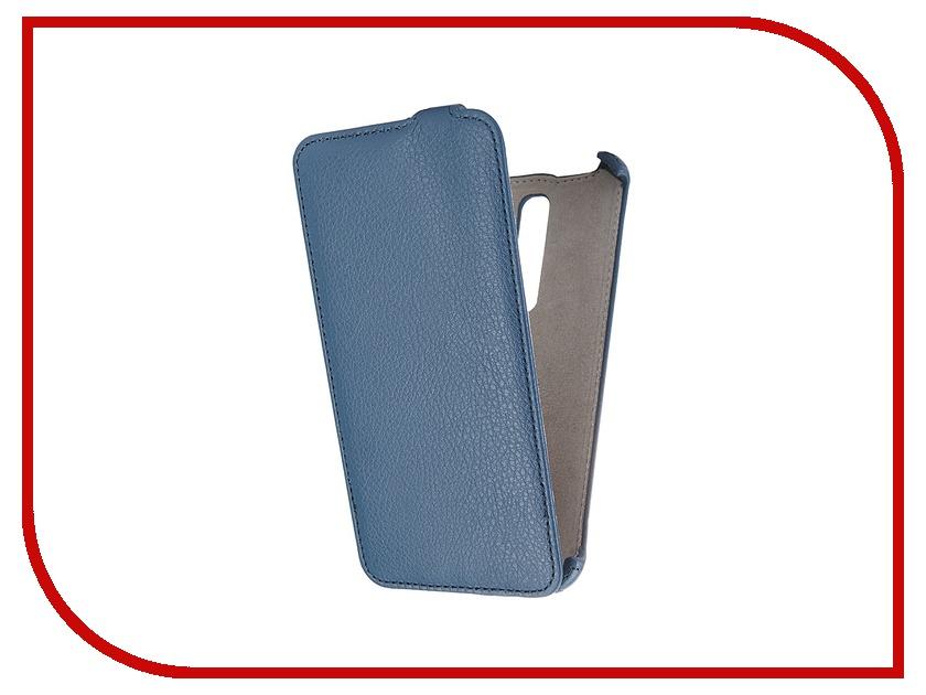 ��������� ����� ASUS Zenfone 2 ZE551ML 5.5 Activ Flip Leather Blue 52632