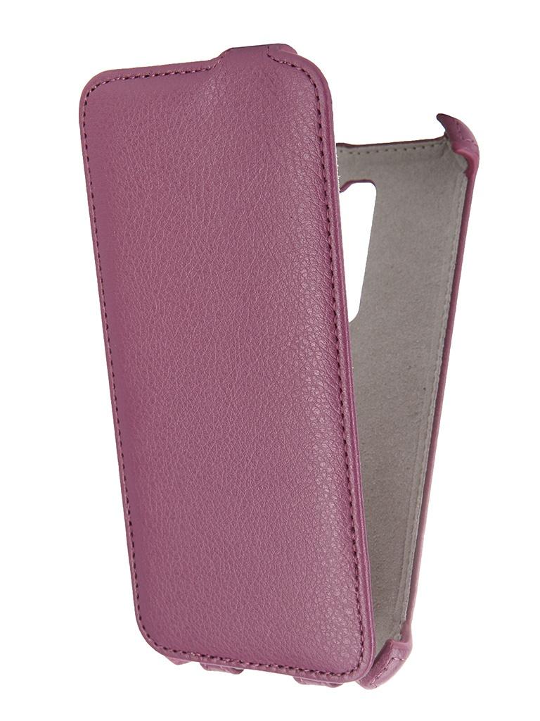 Аксессуар Чехол ASUS Zenfone 2 ZE500CL 5.0 Activ Flip Leather Violet 52639<br>