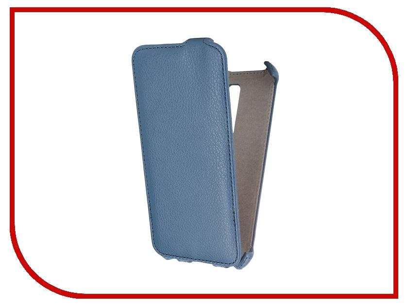 Аксессуар Чехол ASUS ZenFone 2 ZE500CL 5.0 Activ Flip Leather Blue 52638