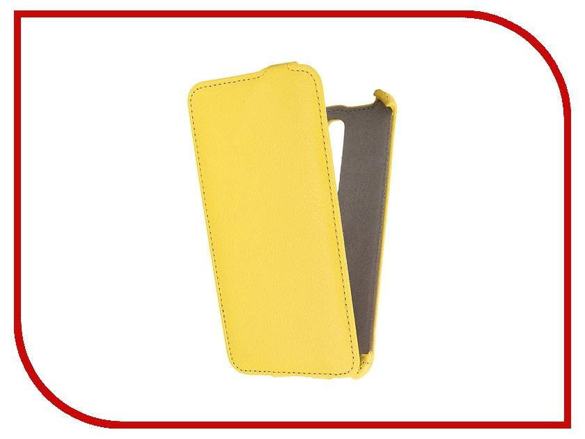 Аксессуар Чехол ASUS ZenFone 2 ZE551ML Deluxe Activ Flip Leather Yellow 52664<br>