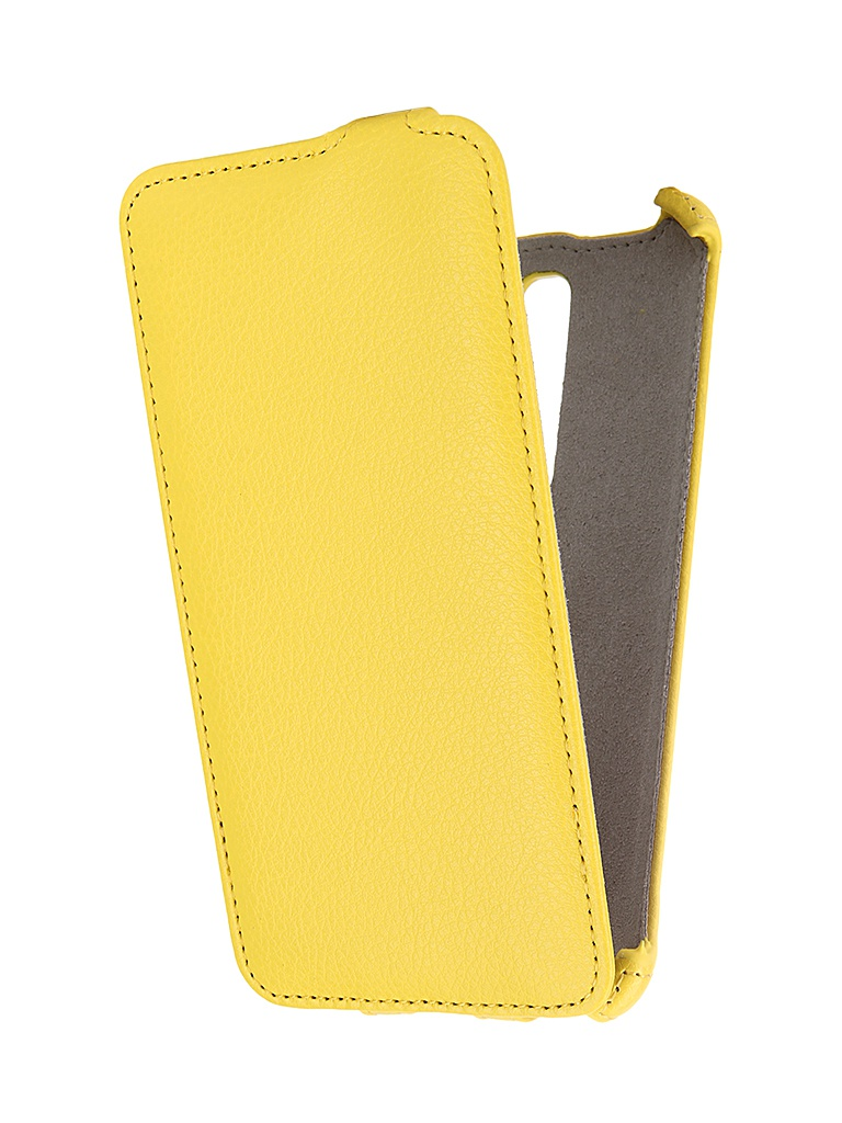 Аксессуар Чехол ASUS Zenfone 2 ZE551ML Deluxe Activ Flip Leather Yellow 52664<br>