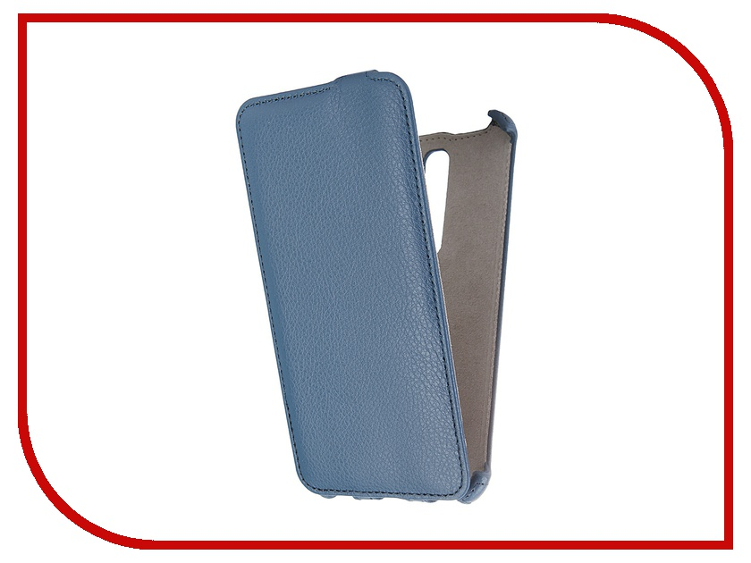 Аксессуар Чехол ASUS Zenfone 2 ZE551ML Deluxe Activ Flip Leather Blue 52662<br>