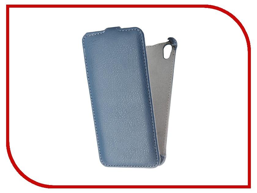 Аксессуар Чехол Sony E6683 Xperia Z5 Dual Activ Flip Leather Blue 52713