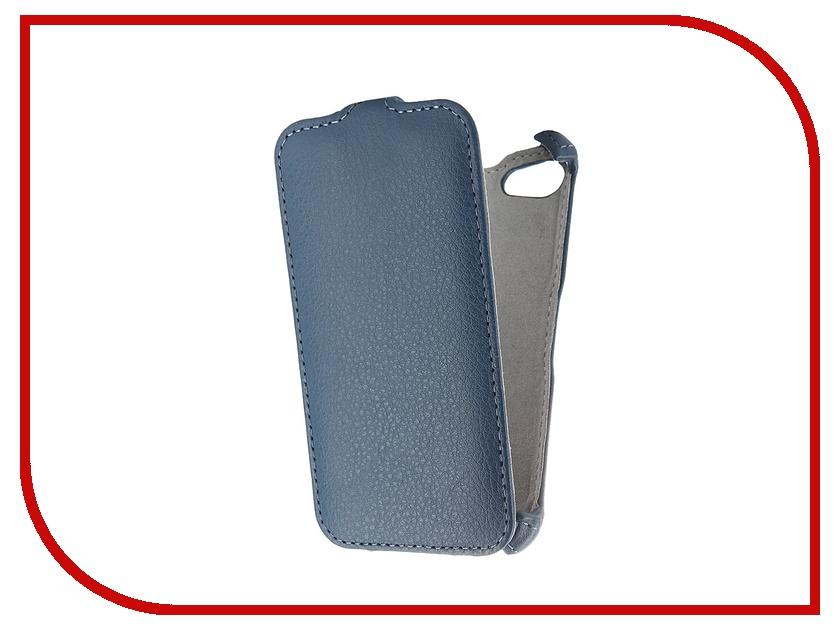 Аксессуар Чехол Sony E5823 Xperia Z5 Compact Activ Flip Leather Blue 52711<br>