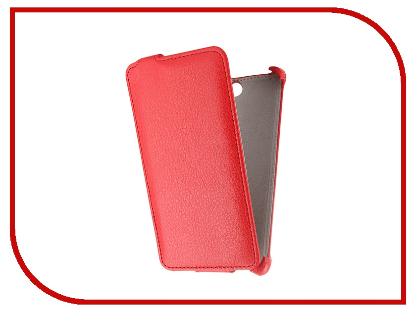��������� ����� Philips S396 Activ Flip Leather Red 52698