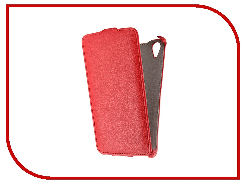 Аксессуар Чехол Fly FS502 Cirrus 1 Activ Flip Leather Red 52683<br>